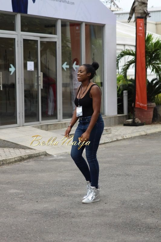 GTBank Lagos Fashion & Design Week 2014 Day 2 Street Style - Bellanaija - October2014001