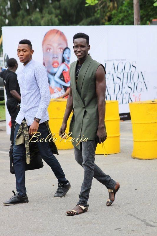 GTBank Lagos Fashion & Design Week 2014 Day 2 Street Style - Bellanaija - October2014003