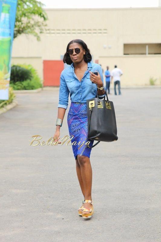 GTBank Lagos Fashion & Design Week 2014 Day 2 Street Style - Bellanaija - October2014005