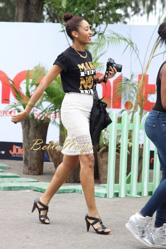 GTBank Lagos Fashion & Design Week 2014 Day 2 Street Style - Bellanaija - October2014008