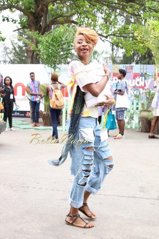 GTBank Lagos Fashion & Design Week 2014 Day 2 Street Style - Bellanaija - October2014009