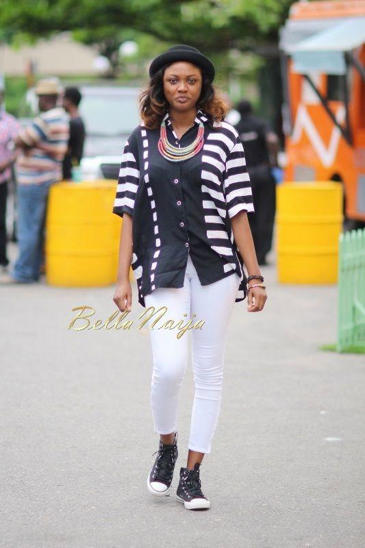 GTBank Lagos Fashion & Design Week 2014 Day 2 Street Style - Bellanaija - October2014011