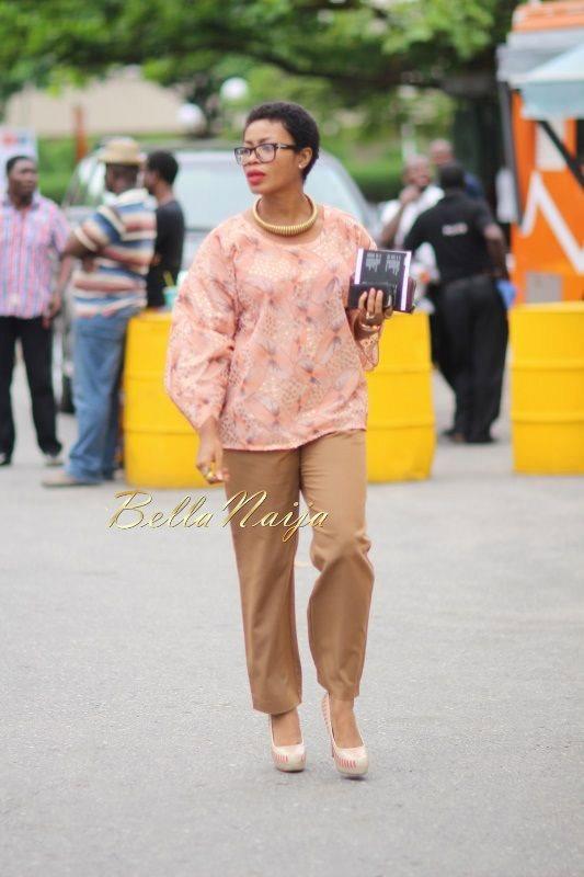GTBank Lagos Fashion & Design Week 2014 Day 2 Street Style - Bellanaija - October2014012