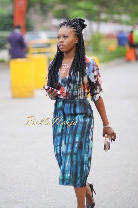 GTBank Lagos Fashion & Design Week 2014 Day 2 Street Style - Bellanaija - October2014014