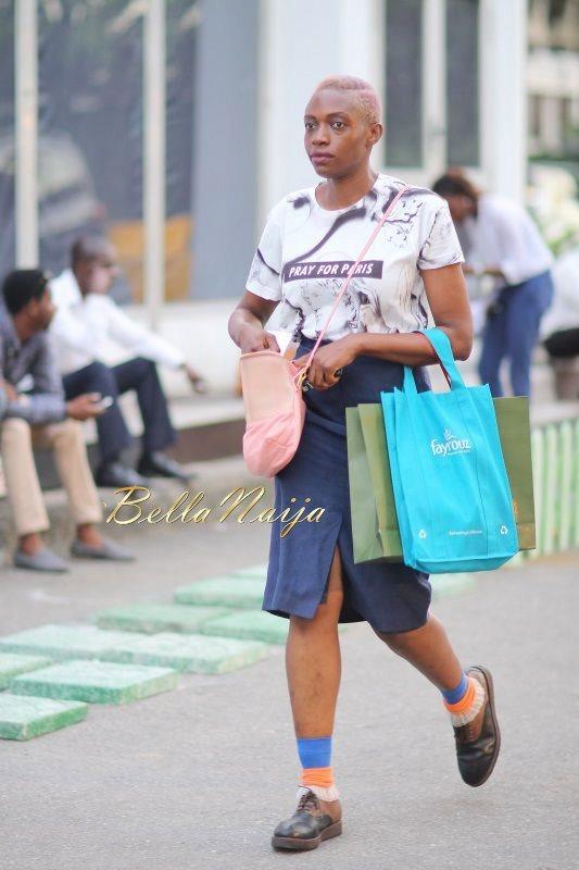 GTBank Lagos Fashion & Design Week 2014 Day 2 Street Style - Bellanaija - October2014017