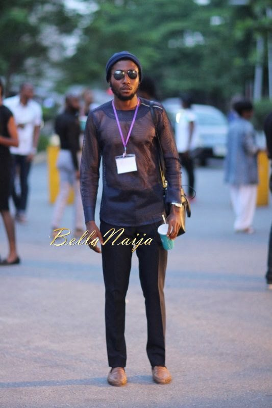GTBank Lagos Fashion & Design Week 2014 Day 2 Street Style - Bellanaija - October2014023