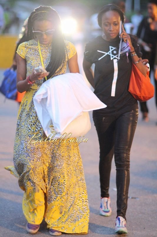 GTBank Lagos Fashion & Design Week 2014 Day 2 Street Style - Bellanaija - October2014025