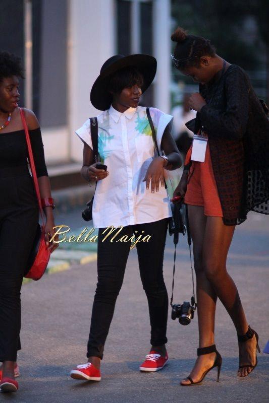 GTBank Lagos Fashion & Design Week 2014 Day 2 Street Style - Bellanaija - October2014026