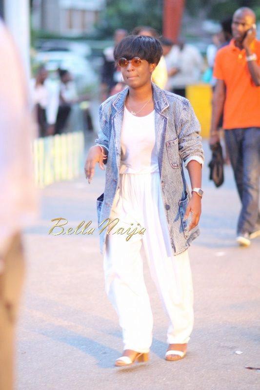 GTBank Lagos Fashion & Design Week 2014 Day 2 Street Style - Bellanaija - October2014027