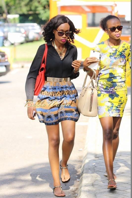 GTBank Lagos Fashion & Design Week 2014 Street Style - Bellanaija - October2014009