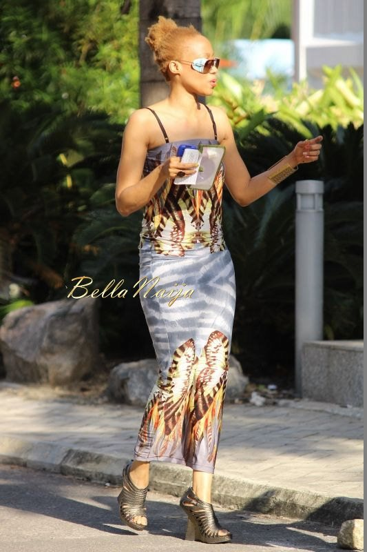 GTBank Lagos Fashion & Design Week 2014 Street Style - Bellanaija - October2014034