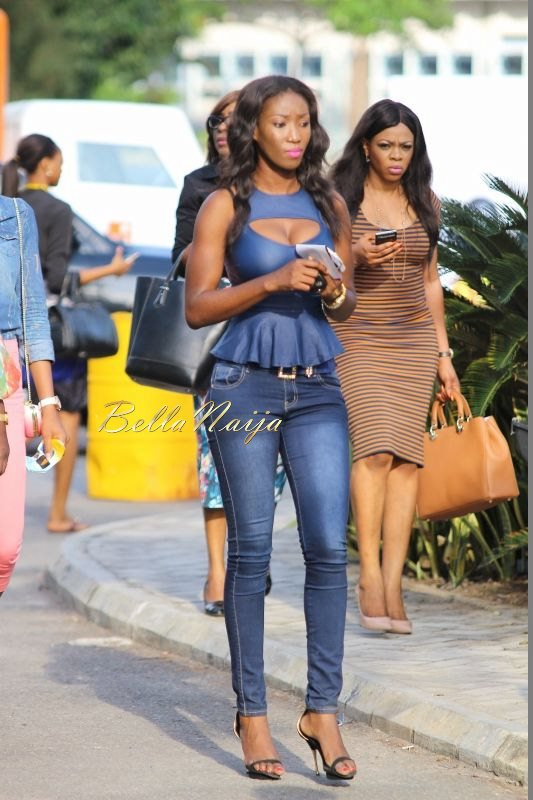 GTBank Lagos Fashion & Design Week 2014 Street Style - Bellanaija - October2014038