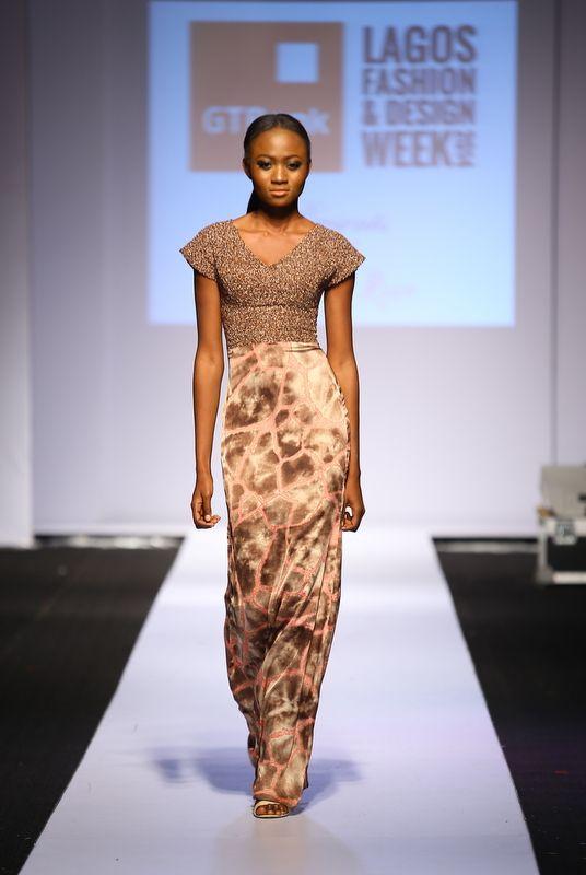 GTBank Lagos Fashion & Design Week 2014 Sunny Rose - Bellanaija - October2014010