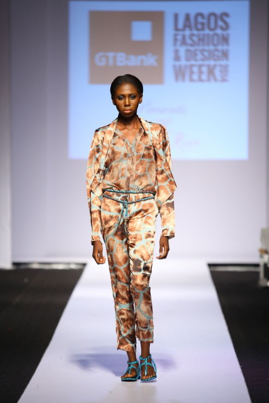 GTBank Lagos Fashion & Design Week 2014 Sunny Rose - Bellanaija - October2014013