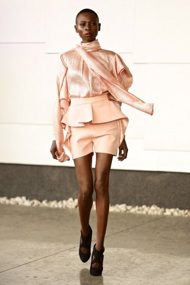 GTBank Lagos FashionMercedes-Benz Fashion Week Africa 2014 David Tlale - Bellanaija - November2014004