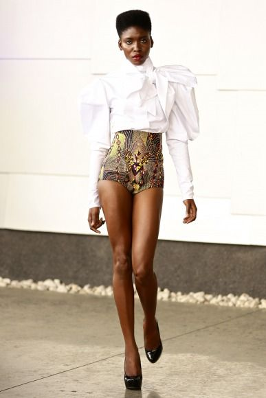 GTBank Lagos FashionMercedes-Benz Fashion Week Africa 2014 David Tlale - Bellanaija - November2014022