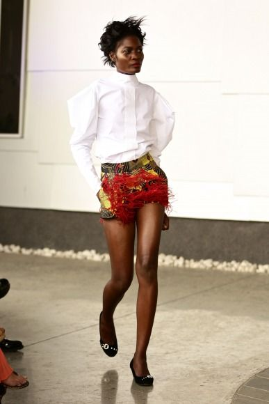 GTBank Lagos FashionMercedes-Benz Fashion Week Africa 2014 David Tlale - Bellanaija - November2014024