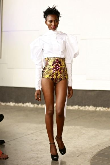 GTBank Lagos FashionMercedes-Benz Fashion Week Africa 2014 David Tlale - Bellanaija - November2014027