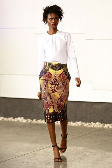 GTBank Lagos FashionMercedes-Benz Fashion Week Africa 2014 David Tlale - Bellanaija - November2014031