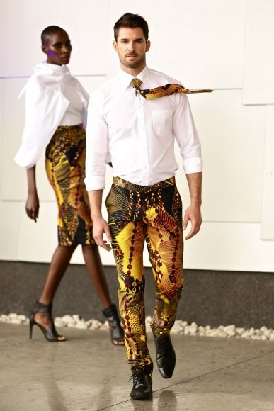 GTBank Lagos FashionMercedes-Benz Fashion Week Africa 2014 David Tlale - Bellanaija - November2014032