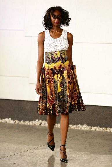 GTBank Lagos FashionMercedes-Benz Fashion Week Africa 2014 David Tlale - Bellanaija - November2014038