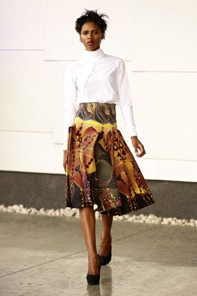 GTBank Lagos FashionMercedes-Benz Fashion Week Africa 2014 David Tlale - Bellanaija - November2014040