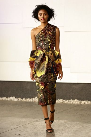 GTBank Lagos FashionMercedes-Benz Fashion Week Africa 2014 David Tlale - Bellanaija - November2014042