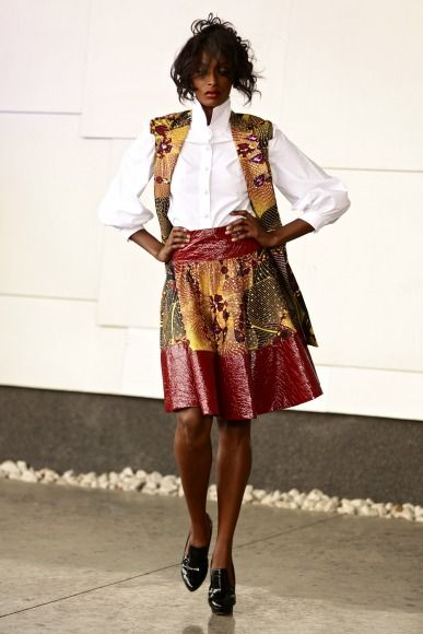 GTBank Lagos FashionMercedes-Benz Fashion Week Africa 2014 David Tlale - Bellanaija - November2014045