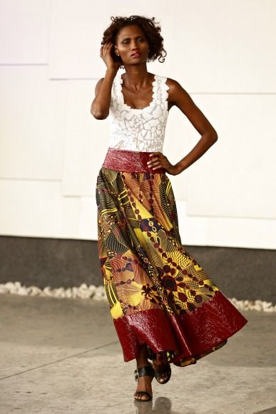 GTBank Lagos FashionMercedes-Benz Fashion Week Africa 2014 David Tlale - Bellanaija - November2014047