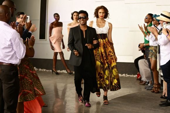 GTBank Lagos FashionMercedes-Benz Fashion Week Africa 2014 David Tlale - Bellanaija - November2014050