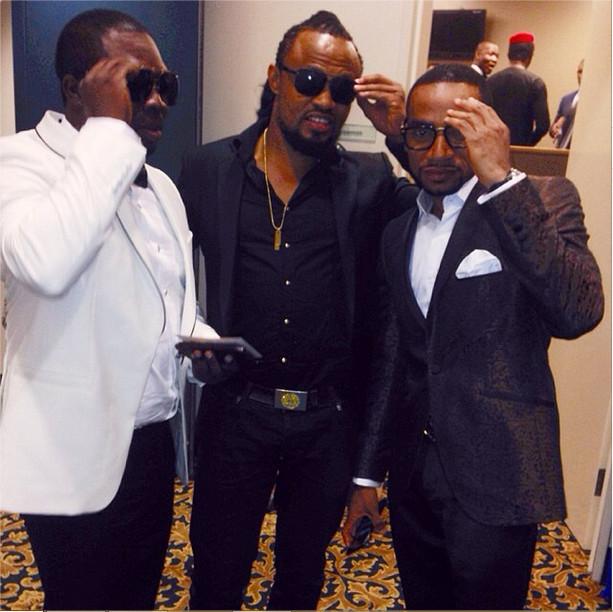 Frank Rajah, Moses Inwang & Pascal Amanfo