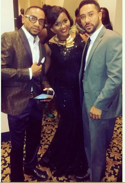 Pascal Amanfo, Uche Joan Iwuanyanwu & Majid Michel