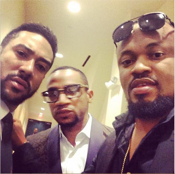 Majid Michel, Pascal Amanfo & Moses Inwang