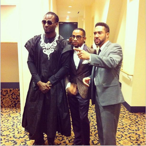 Gbenro Ajibade, Pascal Amanfo & Majid Michel