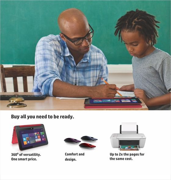 HP Back to School - Bellanaija - October 2014