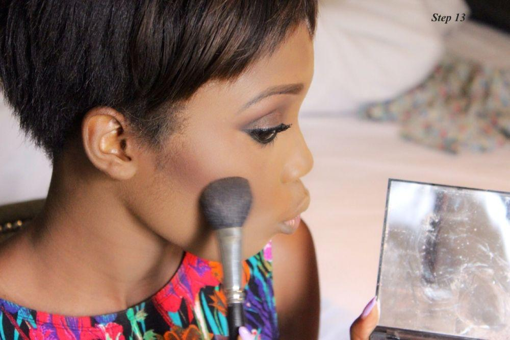 How to Contour & Highlight with Dodos Uvieghara of IAmDodos - Bellanaija - October2014011