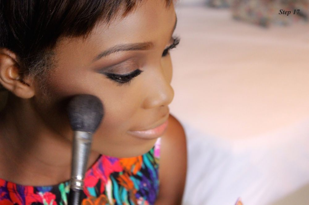 How to Contour & Highlight with Dodos Uvieghara of IAmDodos - Bellanaija - October2014015