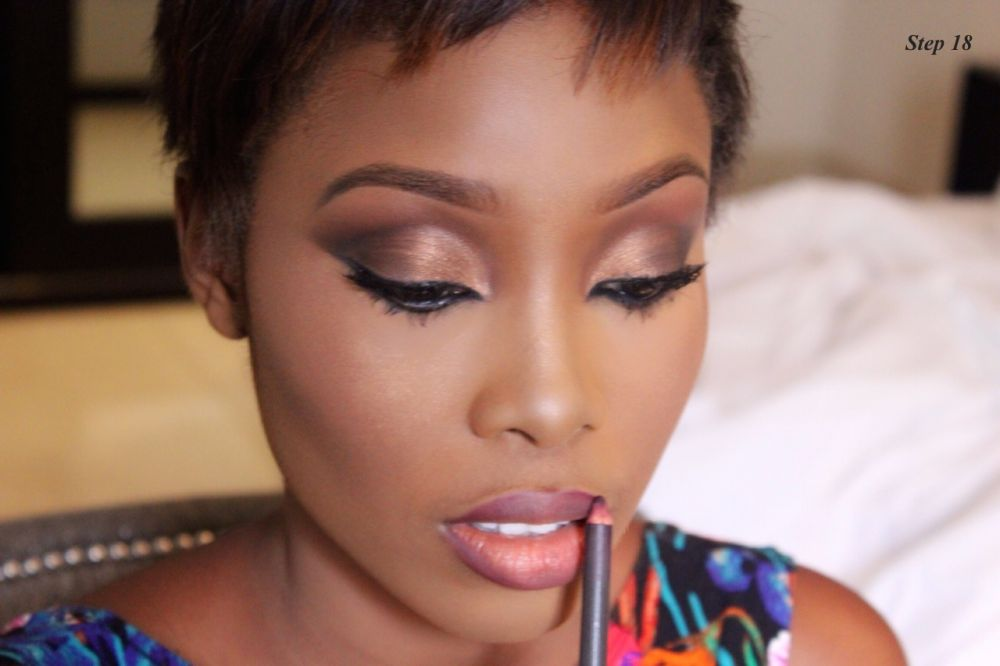 How to Contour & Highlight with Dodos Uvieghara of IAmDodos - Bellanaija - October2014016
