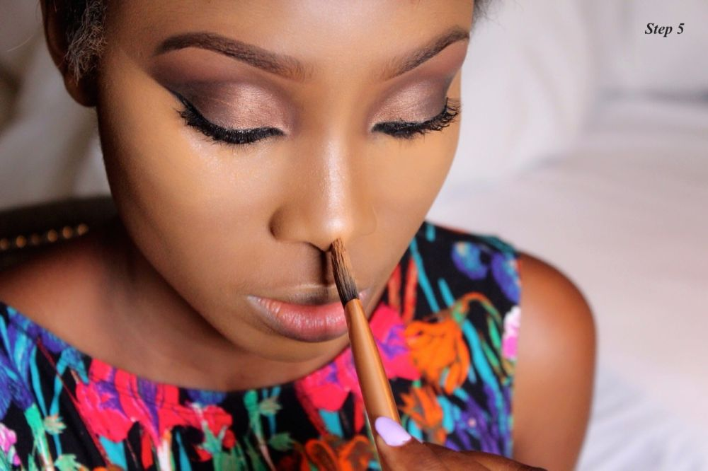 How to Contour & Highlight with Dodos Uvieghara of IAmDodos - Bellanaija - October2014020