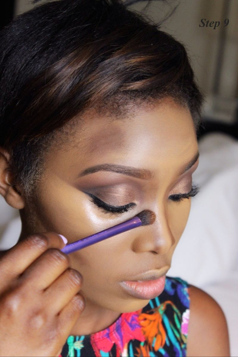 How to Contour & Highlight with Dodos Uvieghara of IAmDodos - Bellanaija - October2014024