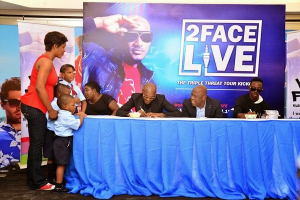 Ikeja City Mall TuFace Autograph Session for Vote not Fight Campaign - Bellanaija - October2014003