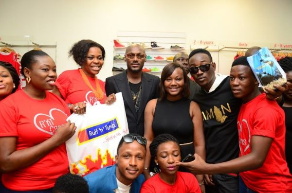 Ikeja City Mall TuFace Autograph Session for Vote not Fight Campaign - Bellanaija - October2014027