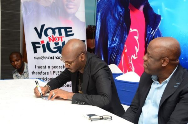 Ikeja City Mall TuFace Autograph Session for Vote not Fight Campaign - Bellanaija - October2014034