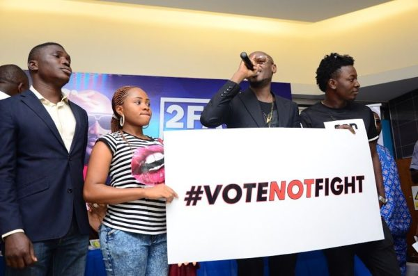 Ikeja City Mall TuFace Autograph Session for Vote not Fight Campaign - Bellanaija - October2014066