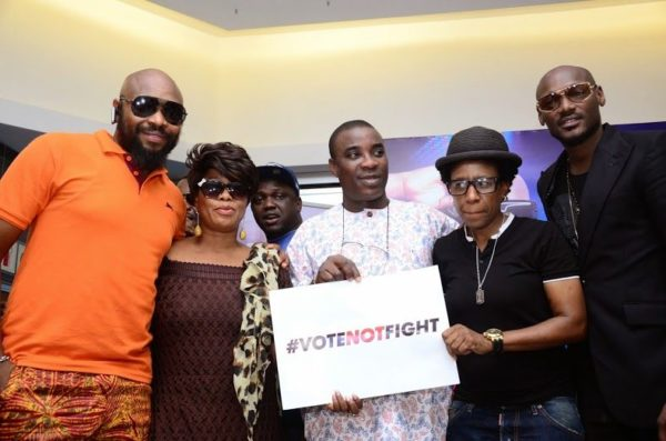 Ikeja City Mall TuFace Autograph Session for Vote not Fight Campaign - Bellanaija - October2014069