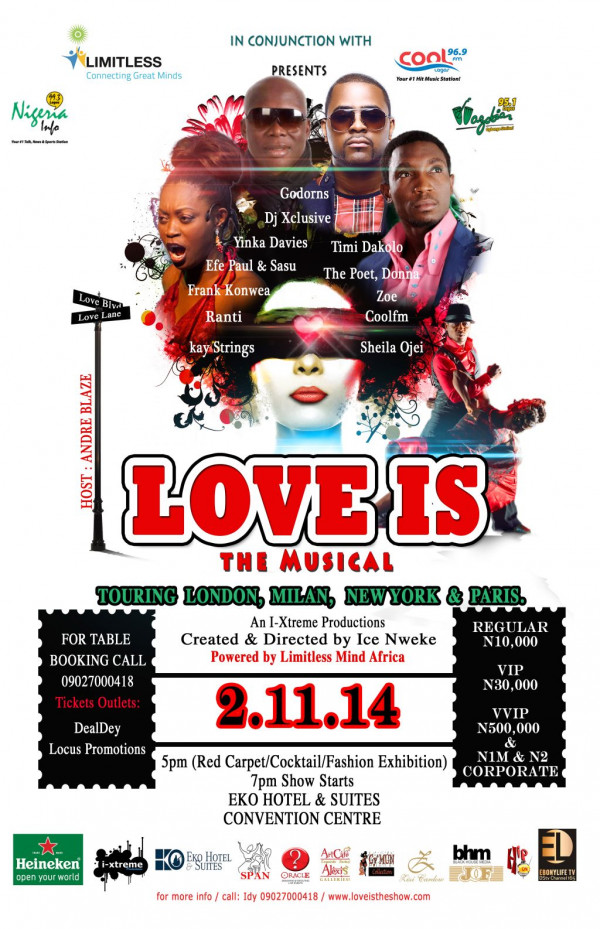 Love Is The Musical - Bellanaija - October 2014