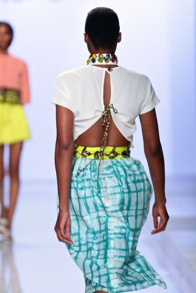 Mercedes-Benz Fashion Week 2014 Christie Brown - Bellanaija - October2014006