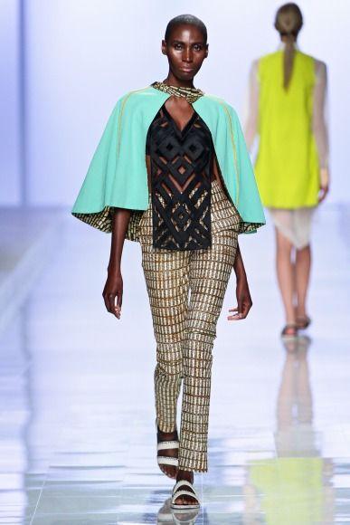 Mercedes-Benz Fashion Week 2014 Christie Brown - Bellanaija - October2014014