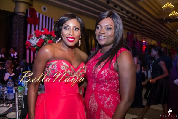 Mo Abudu and Funke Akindele