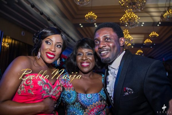 Mo Abudu, Joke Silva and AY Makun